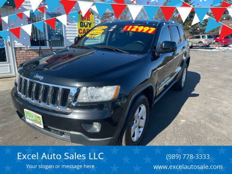 2012 Jeep Grand Cherokee for sale at Excel Auto Sales LLC in Kawkawlin MI