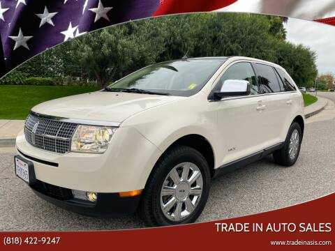 2007 Lincoln MKX for sale at Trade In Auto Sales in Van Nuys CA