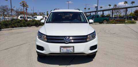 2015 Volkswagen Tiguan for sale at International Motors in San Pedro CA
