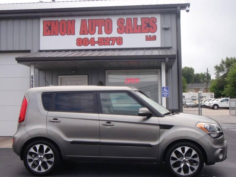 2013 Kia Soul for sale at ENON AUTO SALES in Enon OH
