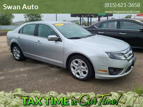 2011 Ford Fusion for sale at Swan Auto in Roscoe IL