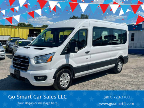 2020 Ford Transit Passenger for sale at Go Smart Car Sales LLC in Winter Garden FL