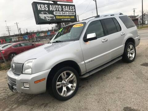2010 Mercury Mountaineer for sale at KBS Auto Sales in Cincinnati OH