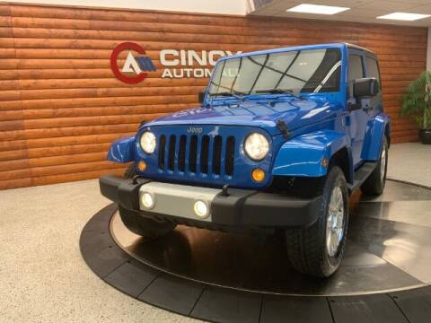 2015 Jeep Wrangler for sale at Dixie Motors in Fairfield OH