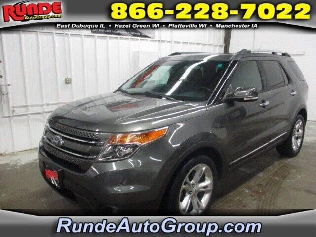2015 Ford Explorer for sale at Runde Chevrolet in East Dubuque IL