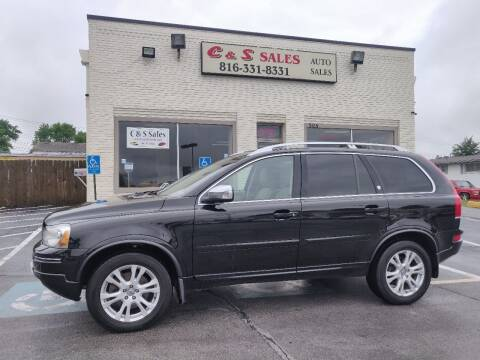 2013 Volvo XC90 for sale at C & S SALES in Belton MO