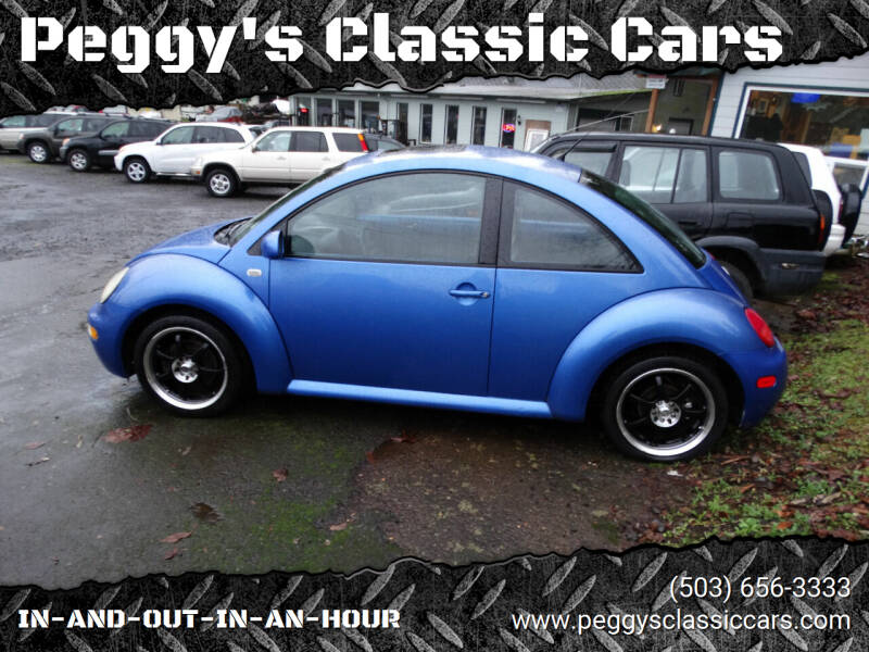 2001 Volkswagen New Beetle for sale at Peggy's Classic Cars in Oregon City OR