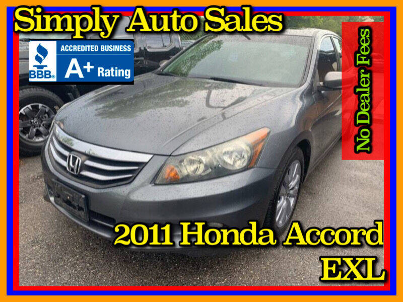 2011 Honda Accord for sale at Simply Auto Sales in Palm Beach Gardens FL
