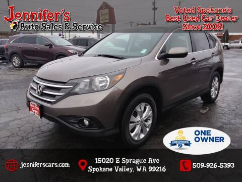 2013 Honda CR-V for sale at Jennifer's Auto Sales in Spokane Valley WA