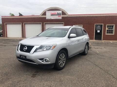 2016 Nissan Pathfinder for sale at Family Auto Finance OKC LLC in Oklahoma City OK
