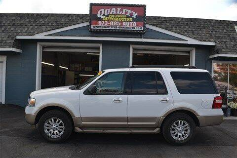 2011 Ford Expedition for sale at Quality Pre-Owned Automotive in Cuba MO