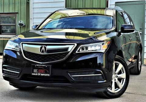 2015 Acura MDX for sale at Haus of Imports in Lemont IL