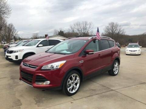 2016 Ford Escape for sale at Mikes Auto Sales INC in Forest City NC