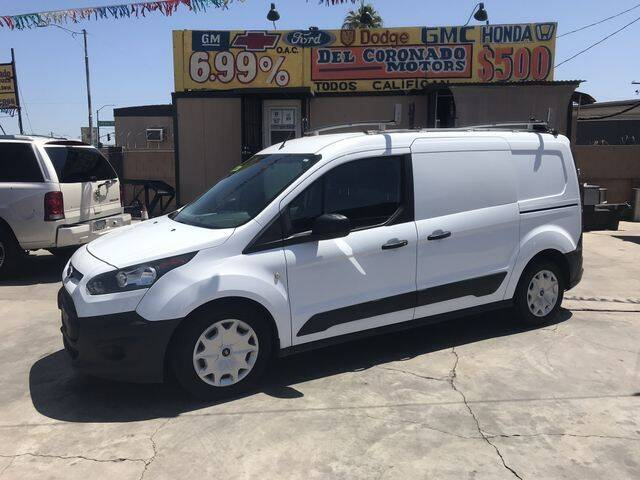 2015 Ford Transit Connect Cargo for sale at DEL CORONADO MOTORS in Phoenix AZ