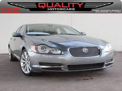 2010 Jaguar XF for sale at QUALITY MOTORCARS in Richmond TX