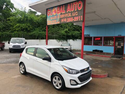 2019 Chevrolet Spark for sale at Global Auto Sales and Service in Nashville TN