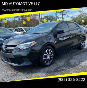 2014 Toyota Corolla for sale at MD AUTOMOTIVE LLC in Slidell LA