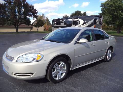 2012 Chevrolet Impala for sale at Hawkins Motors Sales - Lot 1 in Hillside MI