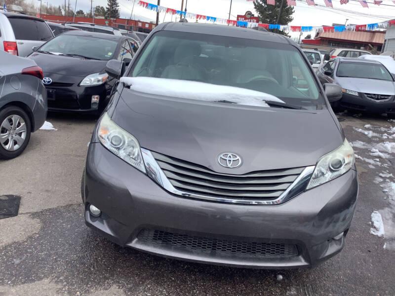 2012 Toyota Sienna for sale at GPS Motors in Denver CO