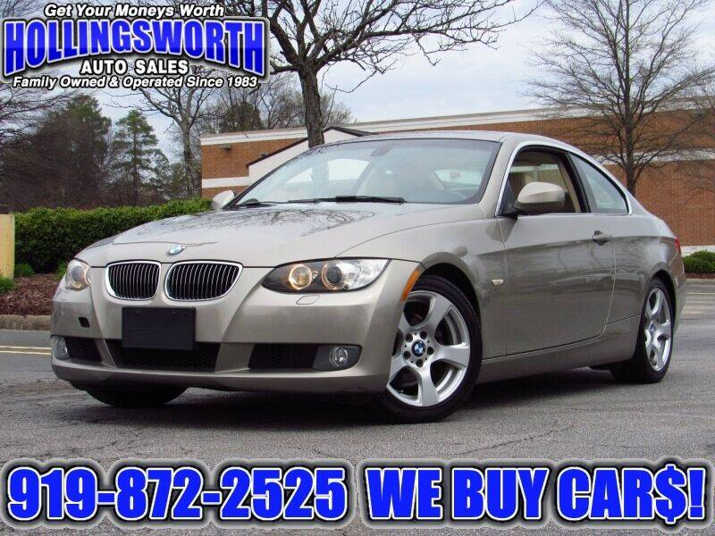 2010 BMW 3 Series for sale at Hollingsworth Auto Sales in Raleigh NC