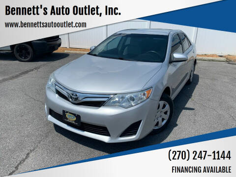 2014 Toyota Camry for sale at Bennett's Auto Outlet, Inc. in Mayfield KY