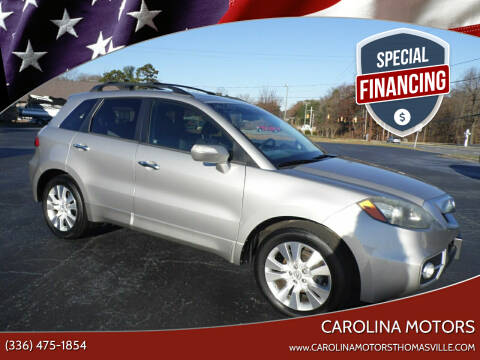 2010 Acura RDX for sale at CAROLINA MOTORS in Thomasville NC