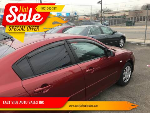 2008 Mazda MAZDA3 for sale at EAST SIDE AUTO SALES INC in Paterson NJ
