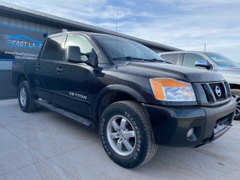2012 Nissan Titan for sale at FAST LANE AUTOS in Spearfish SD