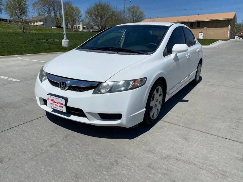 2009 Honda Civic for sale at BIG O MOTORS LLC in Omaha NE