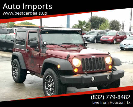 2010 Jeep Wrangler for sale at Auto Imports in Houston TX