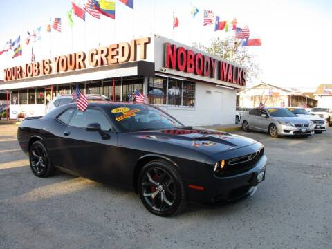 2017 Dodge Challenger for sale at Giant Auto Mart 2 in Houston TX