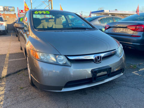 2007 Honda Civic for sale at GRAND USED CARS  INC in Little Ferry NJ