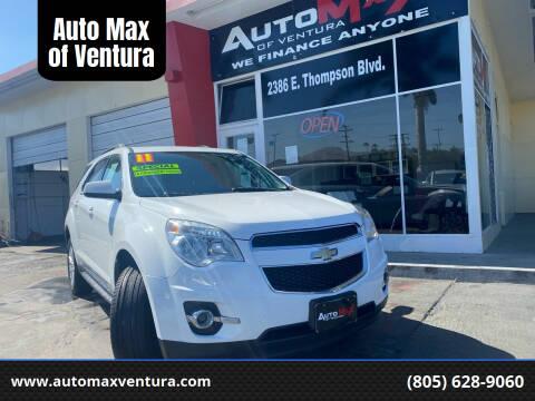 2011 Chevrolet Equinox for sale at Auto Max of Ventura in Ventura CA