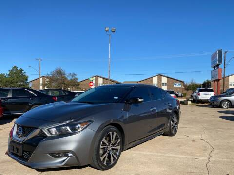 2017 Nissan Maxima for sale at Car Gallery in Oklahoma City OK