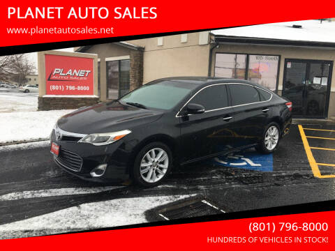 2015 Toyota Avalon for sale at PLANET AUTO SALES in Lindon UT