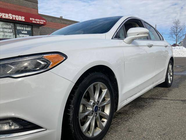 2017 Ford Fusion for sale at AutoCredit SuperStore in Lowell MA