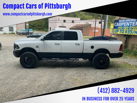 2014 RAM Ram Pickup 2500 for sale at Compact Cars of Pittsburgh in Pittsburgh PA
