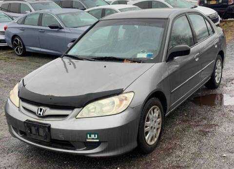 2005 Honda Civic for sale at Cars 2 Love in Delran NJ