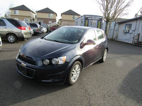 2015 Chevrolet Sonic for sale at ARISTA CAR COMPANY LLC in Portland OR