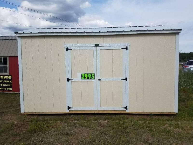 2019 PREMEIR 8X16 UTILITY SHED for sale at Tri State Auto Center - Sheds in La Crescent MN