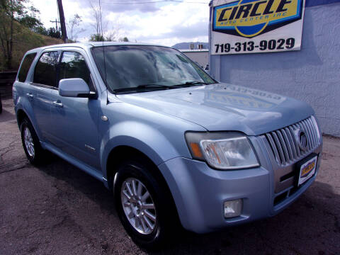 2008 Mercury Mariner for sale at Circle Auto Center in Colorado Springs CO