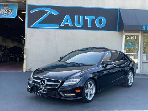 2013 Mercedes-Benz CLS for sale at Z Auto in Sacramento CA
