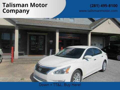 2015 Nissan Altima for sale at Don Jacobson Automobiles in Houston TX