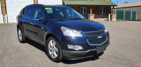 2012 Chevrolet Traverse for sale at Transmart Autos in Zimmerman MN