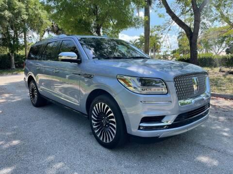 2019 Lincoln Navigator L for sale at DELRAY AUTO MALL in Delray Beach FL