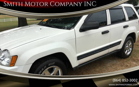 2005 Jeep Grand Cherokee for sale at Smith Motor Company INC in Mc Cormick SC