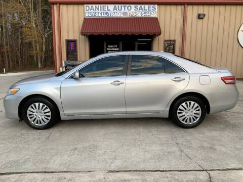 2011 Toyota Camry for sale at Daniel Used Auto Sales in Dallas GA