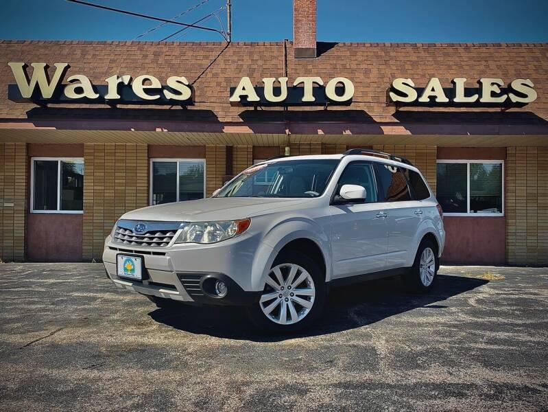 2011 Subaru Forester for sale at Wares Auto Sales INC in Traverse City MI