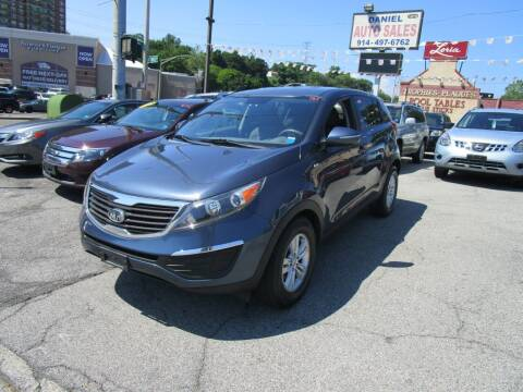 2011 Kia Sportage for sale at Daniel Auto Sales in Yonkers NY