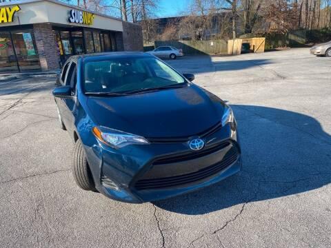 2019 Toyota Corolla for sale at BRAVA AUTO BROKERS LLC in Clarkston GA